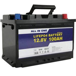 GEL / AGM thay thế Pin năng lượng mặt trời Pin lưu trữ 12v 100ah LifePo4 Pin Lithium ion
