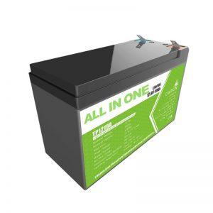 Thay thế pin gel axit chì 12V 10Ah Pin Lithium ion cho cửa hàng năng lượng nhỏ