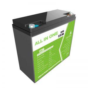 TẤT CẢ TRONG MỘT 12.8V20Ah thay thế Pin Lithium axit chì