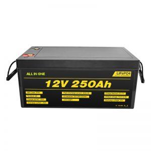 Phổ biến nhất Bộ pin hệ thống năng lượng mặt trời tốt nhất Bộ pin 12V 250Ah LiFePO4 Lithium Ion