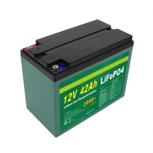 Bảo trì Bộ pin Lifepo4 Cell Lifepo4 năng lượng mặt trời tùy chỉnh 12v 40ah 42ah với BMS