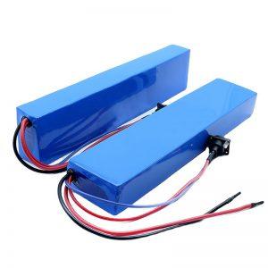 ALL IN ONE 13S4P 18650 e-bike 384w battery rear rack ebike battery 48v 8Ah