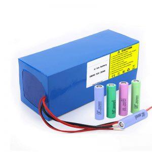 Pin Lithium 18650 72V 20Ah Tỷ lệ tự xả thấp Bộ pin lithium 18650 72v 20ah cho xe máy điện
