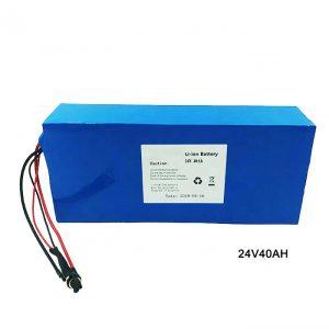 Xe đạp điện Pin Lithium 24 Volt 24V 40Ah Bộ pin NMC Li Ion Pin sạc lithium ion