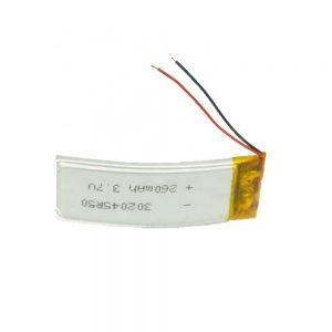 Pin tùy chỉnh LiPO 302045 3.7V 260mAh