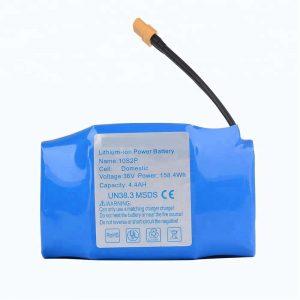 Bộ pin lithium di chuột 36v 4400mah 10s2p bán chạy nhất