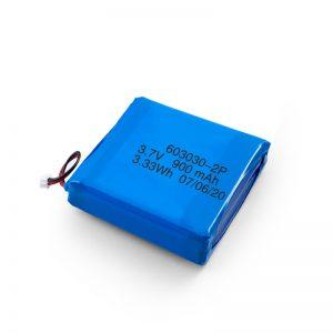 Pin Li-Po Li-Po có thể sạc lại tùy chỉnh 3.7V 450 530 550 700 750 800 900Mah