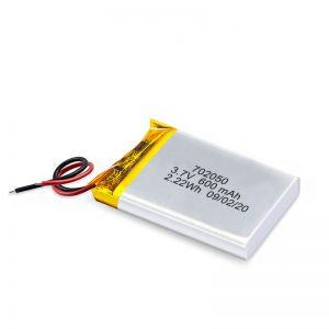 Bán buôn Trung Quốc 3.7V 600Mah 650Mah Pin Lithium Mini Li-Polymer có thể sạc lại Gói pin cho xe đồ chơi