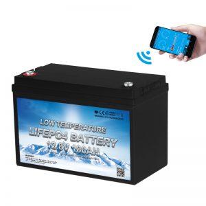 Nhiệt độ thấp Pin LiFePO4 12V 100AH