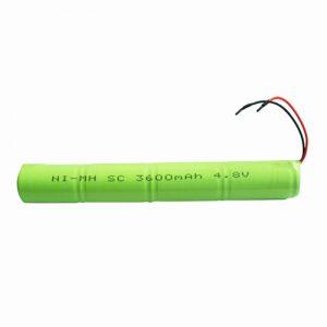 Pin sạc NiMH SC 3600mAH 4.8V