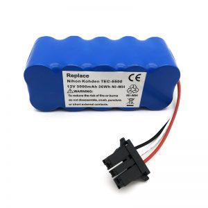 Pin 12v ni-mh cho máy hút bụi TEC-5500, TEC-5521, TEC-5531, TEC-7621, TEC-7631